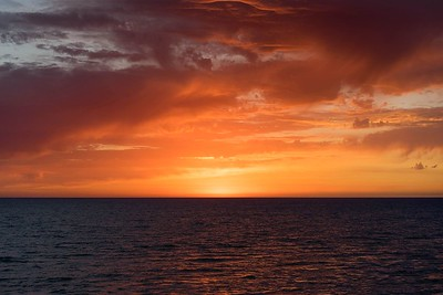 Fire Sunset | Lavinio, Italy
