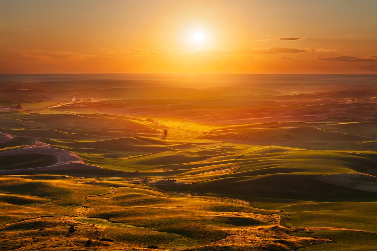 Palouse Sunset