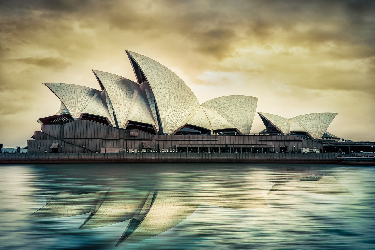 Sydney Opera House just before Doomsday