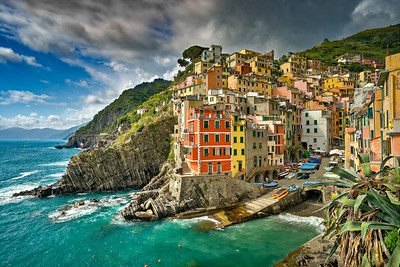 Clouds Over Riomaggiore | Liguria, Italy