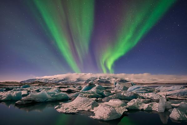 Winter Lights    Iceland