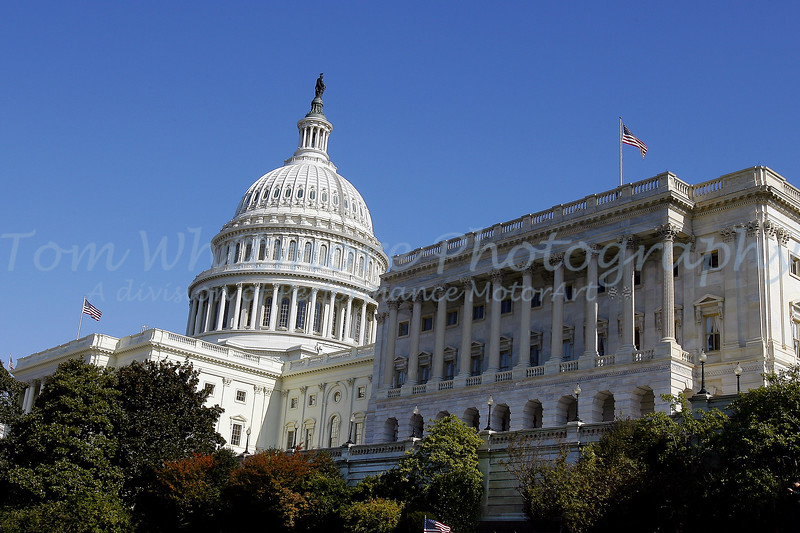 The Capitol Washington DC.