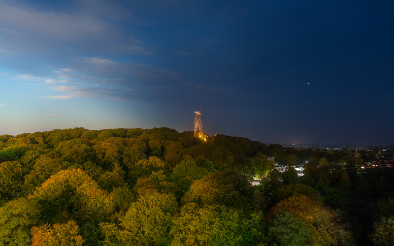 Aalborg Tårnet morgen og aften