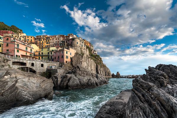 Falling Tide || Vernazza Italy