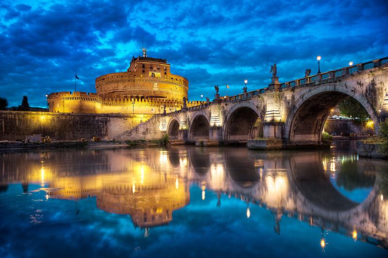 Ponte Sant'Angelo    Rome Italy