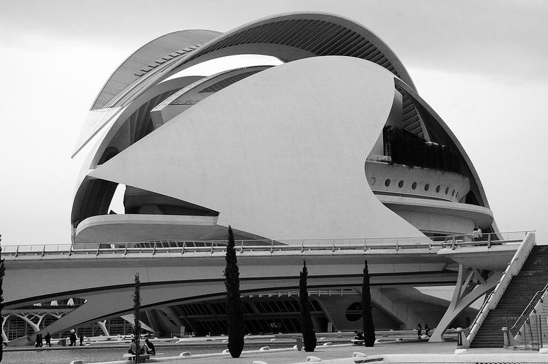S.Calatrava creations in Valencia..