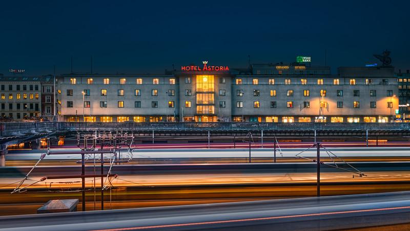 Trains and Hotel Astoria