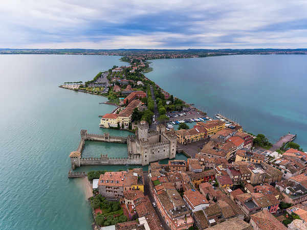 Walking on Water || Sirmione, Italy