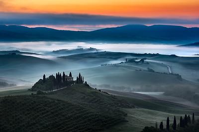Belvedere II Tuscany, Italy