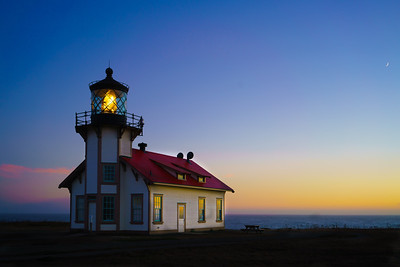 Point Cabrillo Lighthouse - Fort Bragg, California