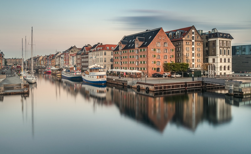 Three Brother Houses in Nyhavn