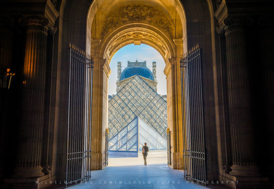 Gate of Louvre