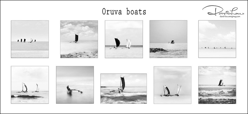 Oruva boats in action
