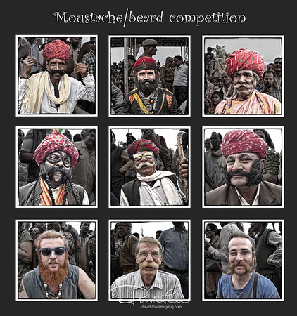 Long moustache participants. Below 3 were tourists. I did not stayed to know who was the winner. What do you think?