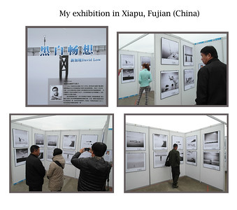 "20 pictures of my photos were exhibited in Fujian, 2012. My theme for this display was ""Minimalist"". The famous photographer Michael Freeman incidentally also took part."