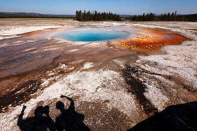 Midway Geyser Basin, Yellowstone National Park, Wyoming