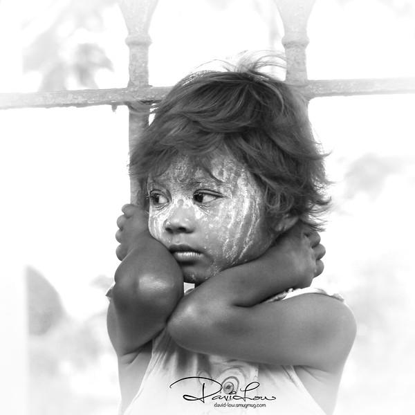 Myanmese kid