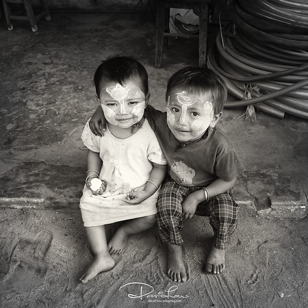 Myanmese kids