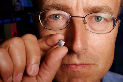 Dr. John Bowers. Inventor of Silicon Hybrid Laser Chip, UC Santa Barbara