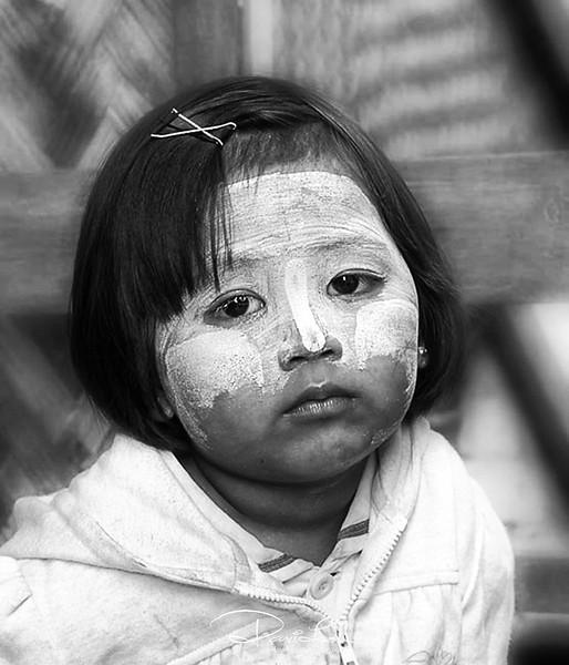 Myanmese street kid