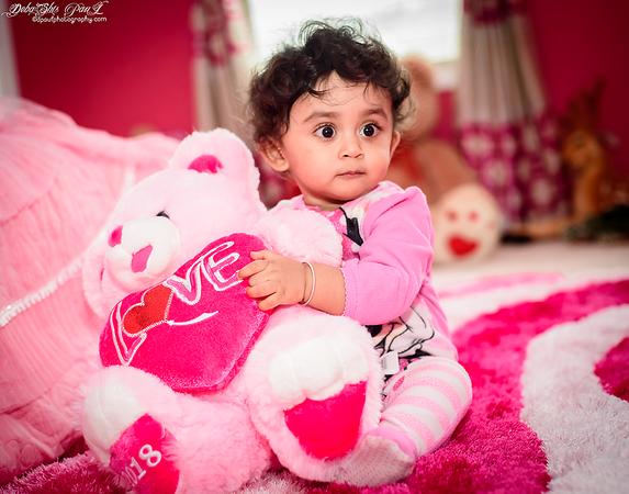 I love my teddy ...