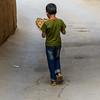 Iranian boy in Yazd, Iran