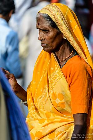 Women in Saris, Krishna Festival