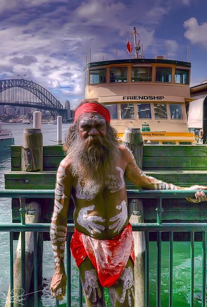 Aborigine, Sydney, Australia