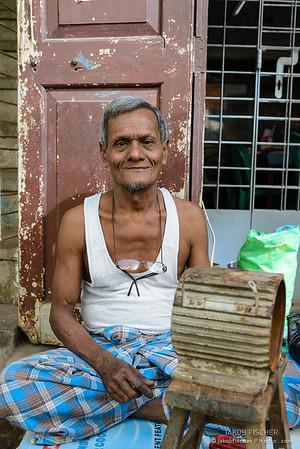 Burmese craftsman
