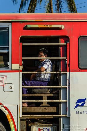 Public transport in Yangon