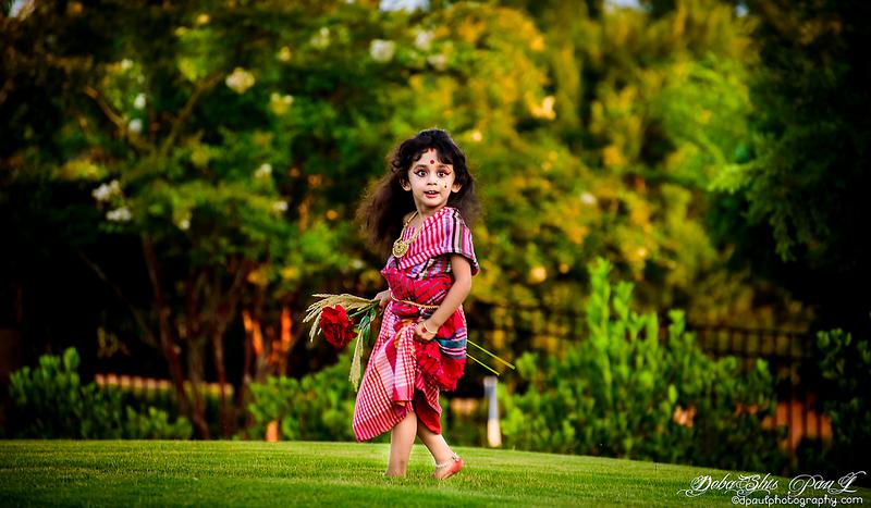 My Kids photoshoot at Mahalaya 2020