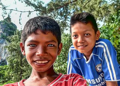 Railey Boys, Railey, Thailand