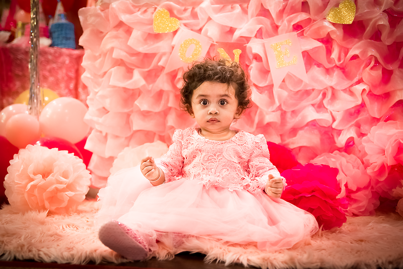 Pihu's first Birthday ...