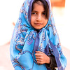 Iranian kid in traditional clothes