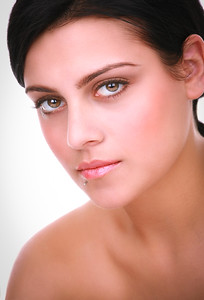Beautiful Natural Healthy Looking Young Female Fahsion Model