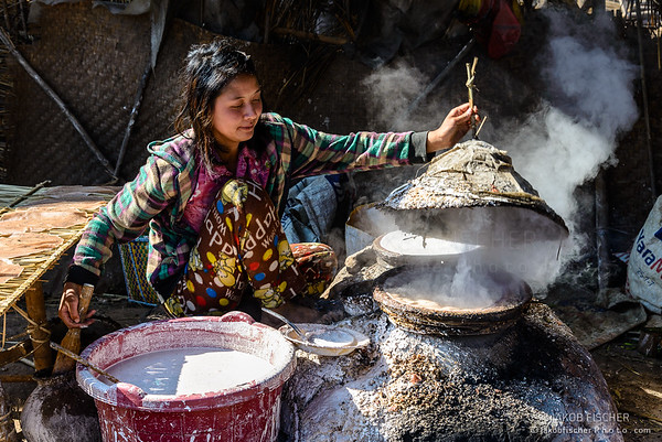 Burmese cooking Traditional bred