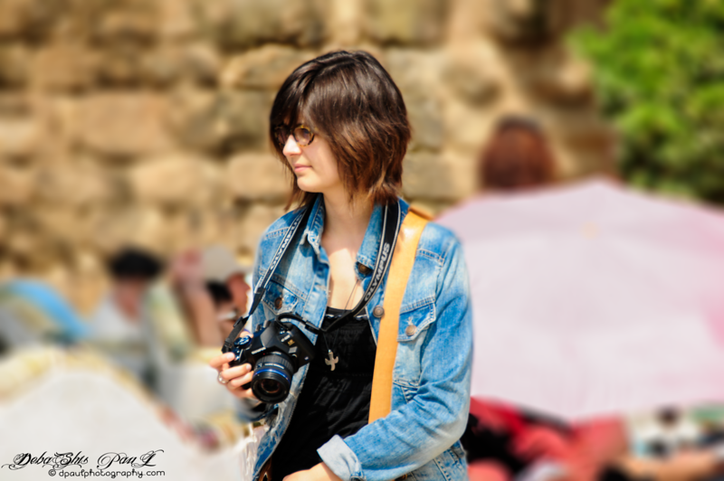 (:  Asian Beauty :) @ Park Güell - Barcelona, Spain