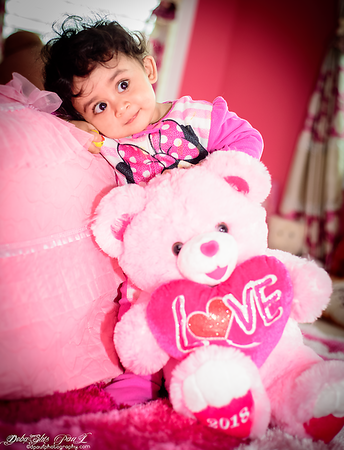 Thanks to Mamma and Papa ... for My cutest Pink teddy