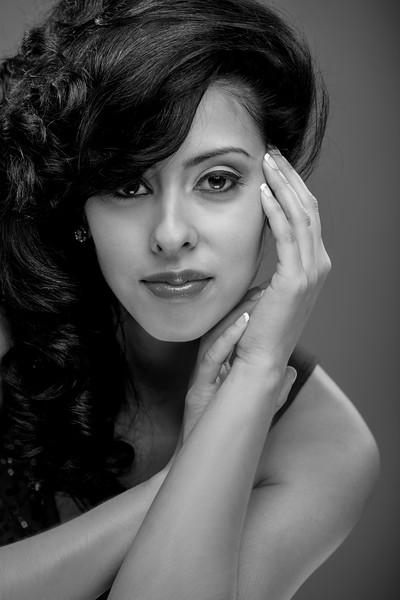Beautiful Young Hispanic Female Portrait