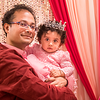Pihu with Papa ... 1st Brithday
