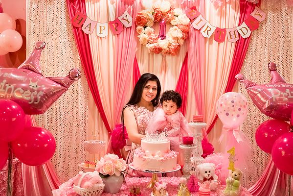 My cute Princess first Birthday Celebration...