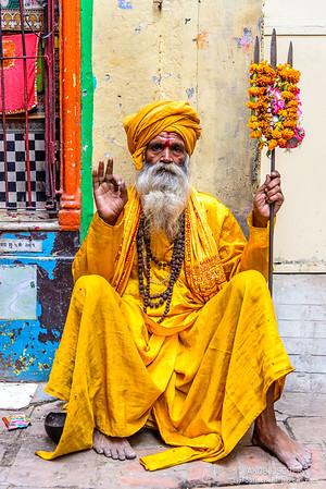 Yogi in Varanasi