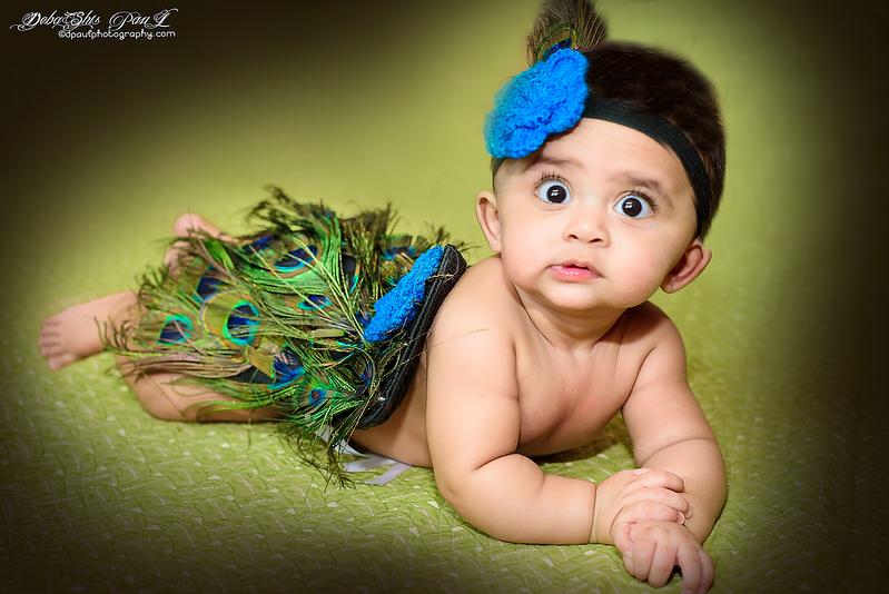 My Baby Peacock prop photoshoot