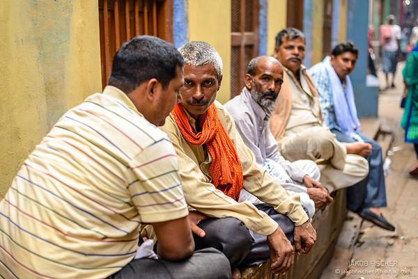 Indians having a rest