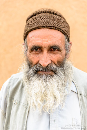 Elderly man in Yazd, Iran