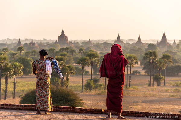 A Monk's view over Bagan