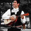 Mexican Singer Alberto Soler in Atlanta Street Live