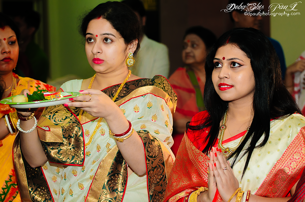 Debi Baran - A Hindu ritual on Durga Goddess Puja...
