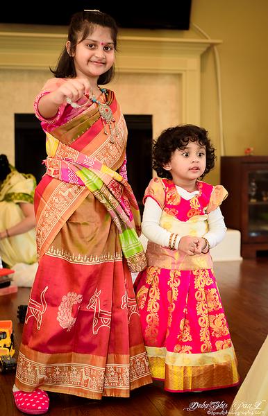 My Cutie Pie with Oli  @ Saraswati Pujo 2019