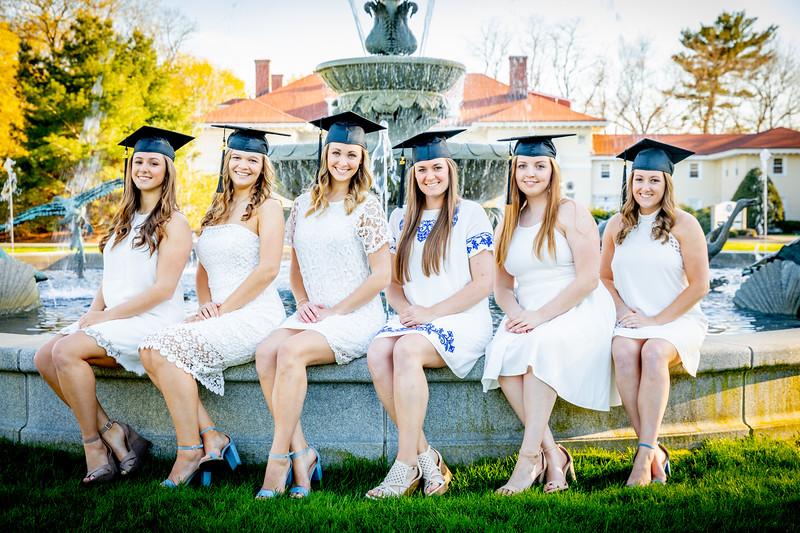 Townhouse 11 graduation portraits.